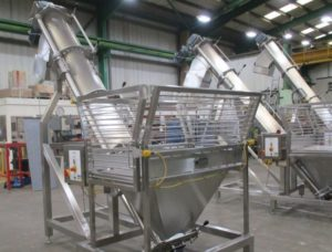 elevating equipment in the food industry