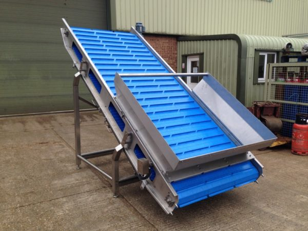 Flighted Belt Conveyor