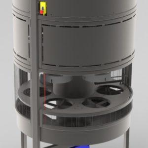 Cabage segmenter/corer
